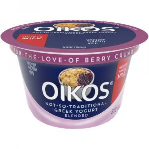 Dannon Oikos Berry Crumble Yogurt
