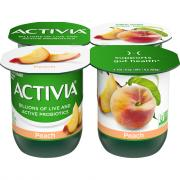 Dannon Activia Peach Yogurt