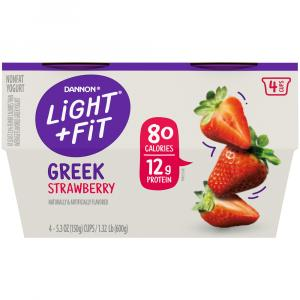 Dannon Light & Fit Greek Strawberry Nonfat Yogurt