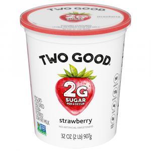 Two Good Strawberry Greek Yogurt
