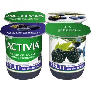 Activia Fruit Fusion Blueberry & Blackberry Yogurt