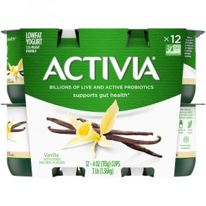Dannon Activia Vanilla Yogurt