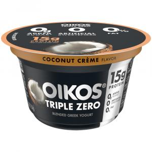Dannon Oikos Triple Zero Coconut Yogurt