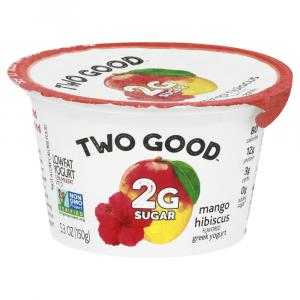 Two Good Mango Hibiscus Greek Yogurt