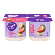 Dannon Light & Fit Traditional Strawberry Banana Yogurt