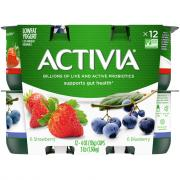 Dannon Activia Strawberry & Blueberry Yogurt