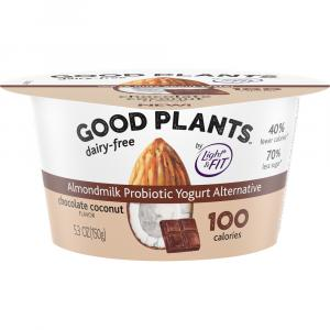 Dannon Good Plants Single Serve Chocolate Coconut Yogurt