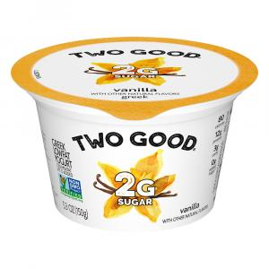 Dannon Two Good Vanilla Greek Yogurt