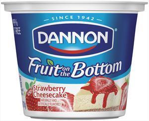 Dannon Fruit On The Bottom Strawberry Cheesecake Yogurt