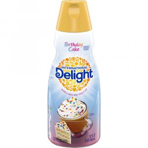 International Delight Birthday Cake Creamer