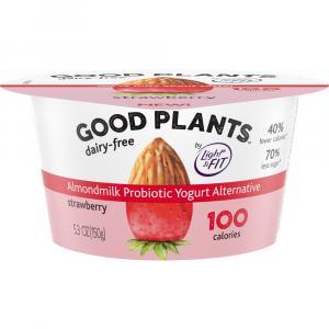 Dannon Good Plants Single Serve Strawberry Yogurt
