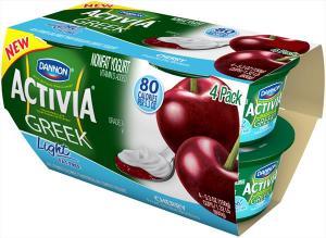 Dannon Activia Light Greek Cherry Non Fat Yogurt