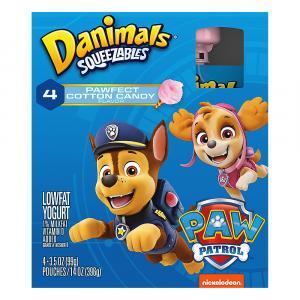 Danimals Squeeze Cotton Candy Pouch