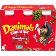 Danimals Strawberry Smoothies