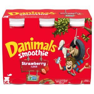 Dannon Danimals Strawberry Smoothies