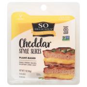 So Delicious Dairy Free Plant-Based Cheddar Style Slices