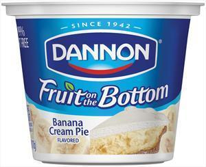 Dannon Fruit On The Bottom Banana Cream Pie Yogurt