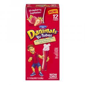 Danimal Yo-tubes Strawberry