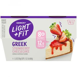 Dannon Light & Fit Greek Strawberry Cheesecake Yogurt