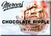 Mercer's Chocolate Ripple Ice Cream