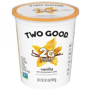 Two Good Greek Vanilla Yogurt