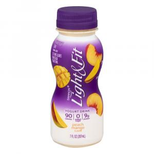 Dannon Light & Fit Peach Mango Drink