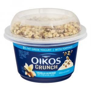 Dannon Oikos Vanilla Almond Crunch