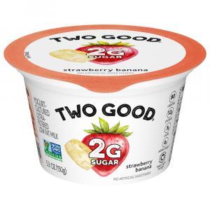 Two Good Strawberry Banana Greek Yogurt