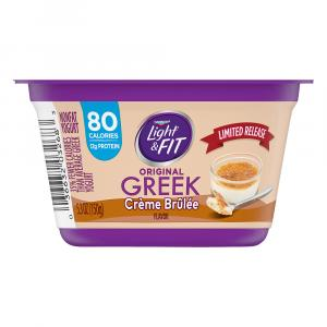 Dannon Light & Fit Greek Limited Edition Yogurt Cup