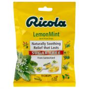 Ricola Sugar Free Lemon Mint Cough Drops
