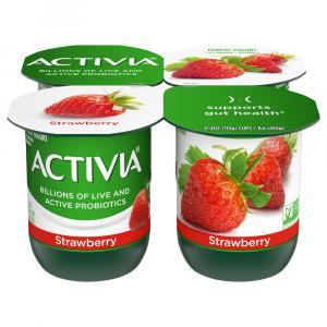 Dannon Activia Strawberry Yogurt