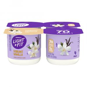 Dannon Light & Fit Traditional Vanilla Yogurt