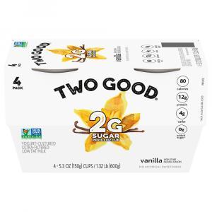 Two Good Vanilla Greek Yogurt