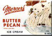 Mercer's Butter Pecan Ice Cream