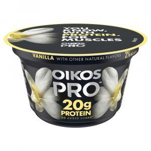 Oikos Pro Vanilla Yogurt