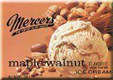 Mercer's Maple Walnut Ice Cream