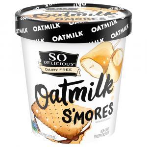 So Delicious Oatmilk S'Mores Non-Dairy Frozen Dessert