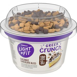 Dannon Greek Crunch Toasted Coconut Vanilla Almond Yogurt