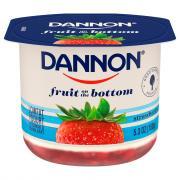 Dannon Fruit on the Bottom Strawberry Low Fat Yogurt
