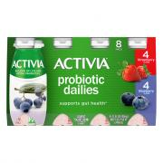 Dannon Activia Strawberry and Blueberry Yogurt