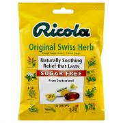 Ricola Sugar Free Mint Herb Cough Drops