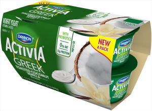 Dannon Activia Greek Toasted Coconut Vanilla Yogurt