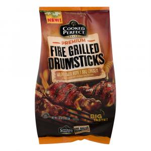 Cooked Perfect Fire Grilled Wildflower Honey BBQ Drumsticks