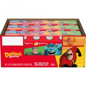 Dannon Danimal Incredibles 2 Birthday Cake/Strawberry Smooth