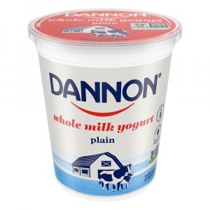 Dannon Plain Natural Yogurt