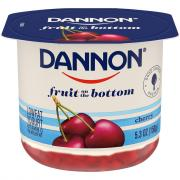Dannon Fruit on the Bottom Cherry Low Fat Yogurt