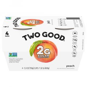 Two Good Peach Greek Yogurt