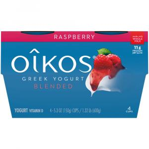 Dannon Oikos Raspberry Traditional Greek Yogurt