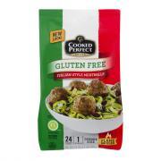Cooked Perfect Gluten Free Italian Style Meatballs