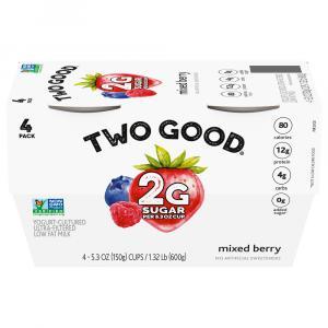Two Good Mixed Berry Greek Yogurt
